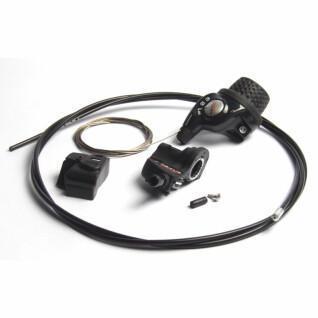 Draaibare handgreep met kabel en clickbox Shimano sl-3s35 nexus revoshift 3v